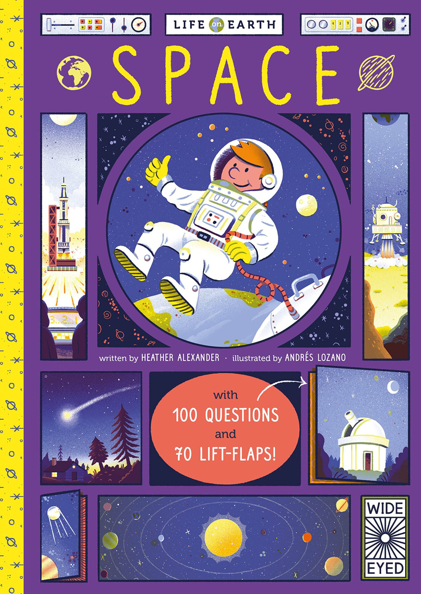 Life on Earth: Space: With 100 Questions and 70 Lift-flaps!