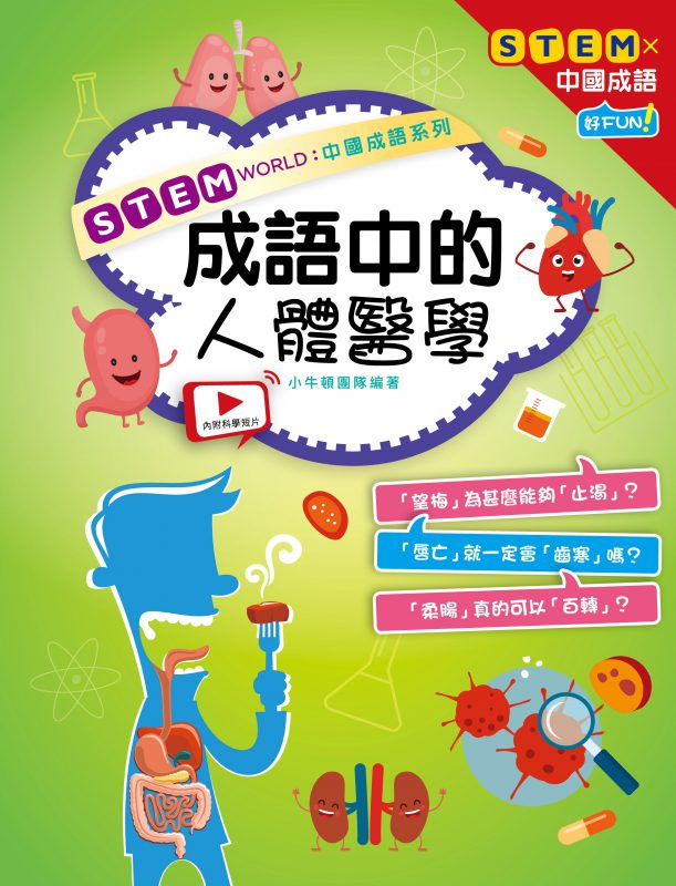 STEM WORLD中國成語系列: 成語中的人體醫學